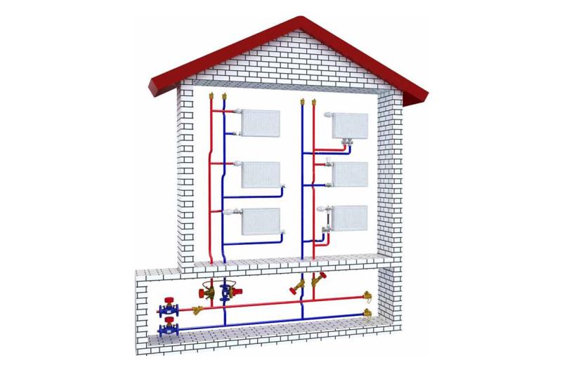 Реализация энергоэффективных проектов в многоквартирных домах с вертикальной разводкой отопления